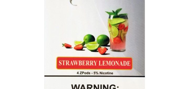 Strawberry Lemonade Ziip Pods by ZLabs